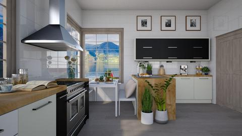 Scandinavian Kitchen - Kitchen - by lilyamc