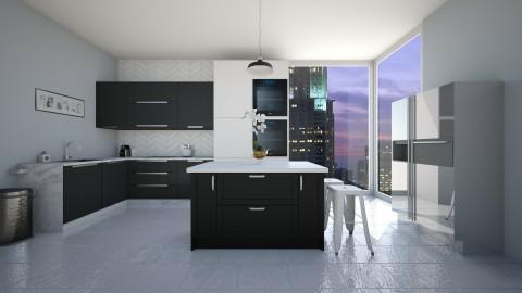 Minimalist Kitchen - Kitchen - by Elizmari SchoemanThorne