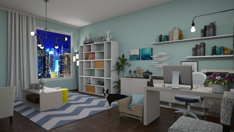 Home Office for Kelly - Office  - by meggle