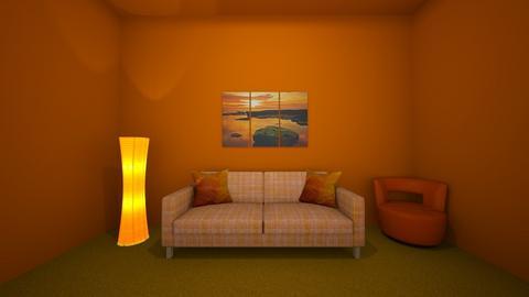 orange room - by Lovey706
