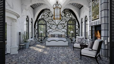 Design 494 Art Nouveau Bedroom - Bedroom  - by Daisy320