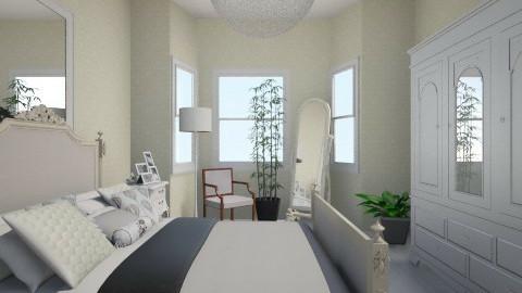 Blanc - Vintage - Bedroom  - by Rasheliz