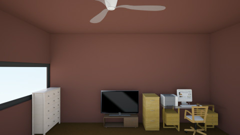 My House In Fort Worth TX - Country - Bedroom  - by Carson Scott Lawrence