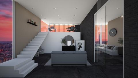 Modern space - Modern - Living room  - by Noa Jones
