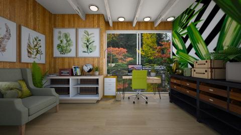 Nature Office - Office  - by Feeny