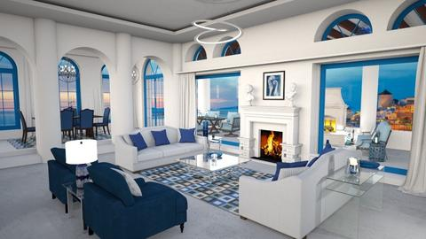 Insideout Luxury Greece - Modern - Living room  - by Amyz625