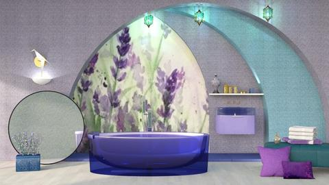 M_Lavender 3 - Bathroom  - by milyca8