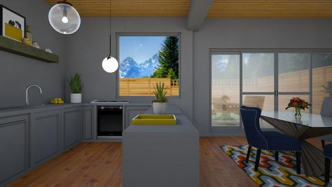 Stucco - Kitchen  - by yonvie