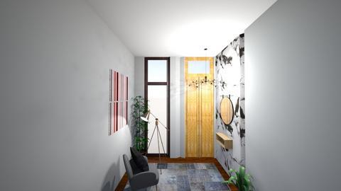 Estar Hall - Minimal - Living room  - by anaamado21