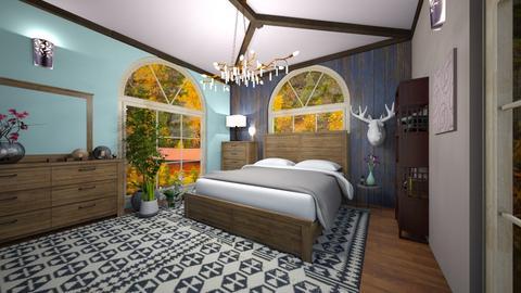 Blurry bedroom  - Modern - Bedroom  - by BlackOrchidea