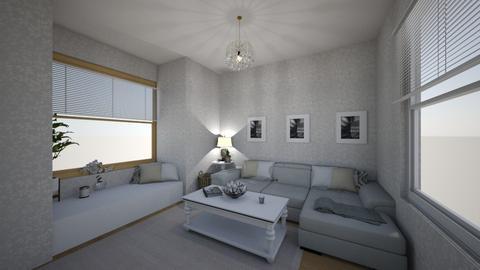 living room - by katherinelouisea