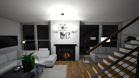 Huge Living Room - Living room  - by MaiZee20