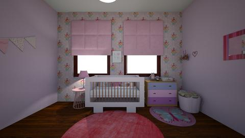 Hallies room baby - Kids room - by Meie