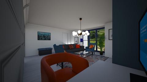 officeatliving  - Living room  - by lattys00
