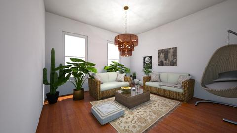 Boho Living Room - Living room - by AngelicaZhelez