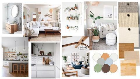 Scandinavian interior - by Timi_design