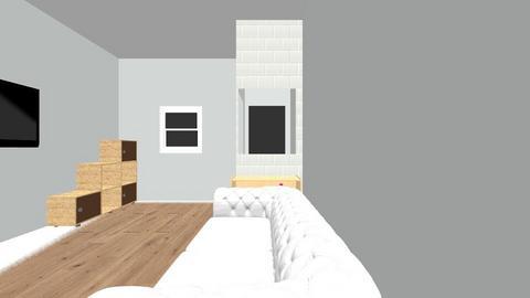 Bottom Floor - Kitchen - by Rachaelshan09