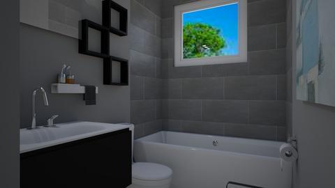 Bathroom 1 - Rustic - Bathroom  - by kaitlynulman