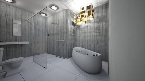 Minimalistic Large - Minimal - Bathroom  - by jaiden2006
