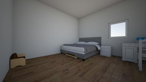 very cool room - Modern - Bedroom  - by 26bhall