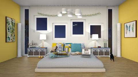 Peaceful Bedroom - Classic - Bedroom  - by Leah_Najimy