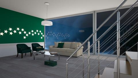 Emerald  - Modern - Living room  - by designcat31