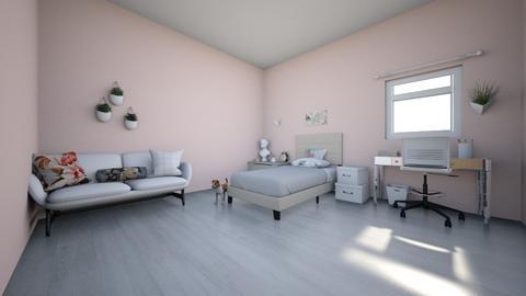 desing - Retro - Bedroom  - by leonormartinscarmo