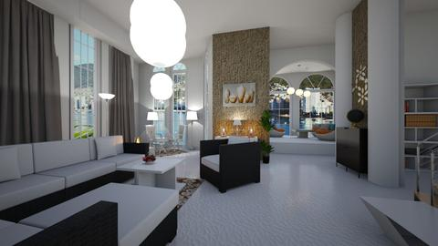 WHITE - Living room  - by TanjaS