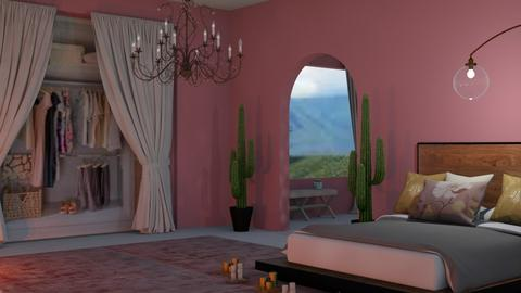 pink mexico - Country - Bedroom  - by aschaper