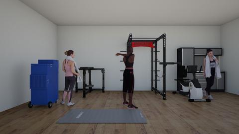 Gym life - by GalaxyWolf44