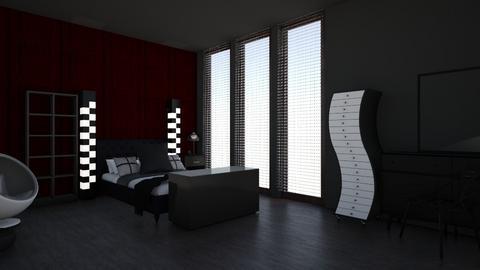 Emo Bedroom - Bedroom  - by McKenna Mitchell