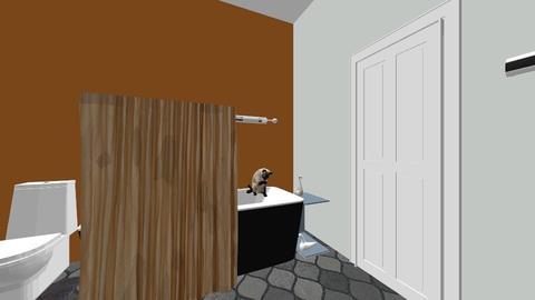 Swan bathroom contest - Bathroom - by lrkstrawberry