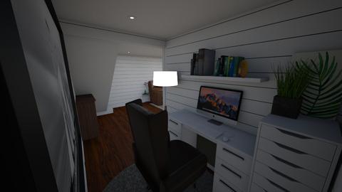 Basement Office - by aimeekamauu