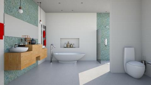 hotel - Bathroom  - by maureen smith