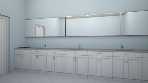 calico cabin bathroom - Bathroom  - by Mollyd115