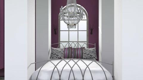 elegante' - Glamour - Bedroom - by nithiaChackochen