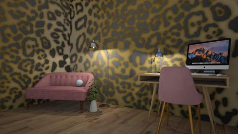 Floor Lamp    Contest  - Office  - by MWB08