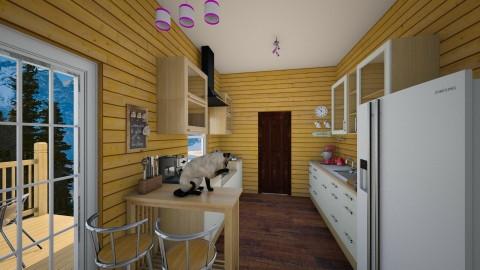 Small kitchen - Kitchen  - by singerofthefall