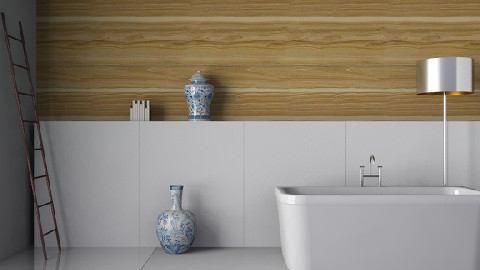 Wood Lines - Minimal - Bathroom  - by 3rdfloor