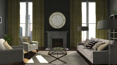 formal living room - Living room  - by DaMarrie Grisby