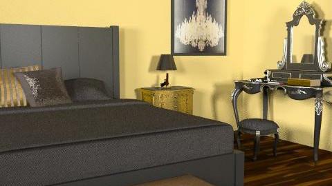 bedroomw - Glamour - Bedroom - by luluu