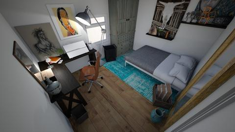 1 - Bedroom - by JasminKvist