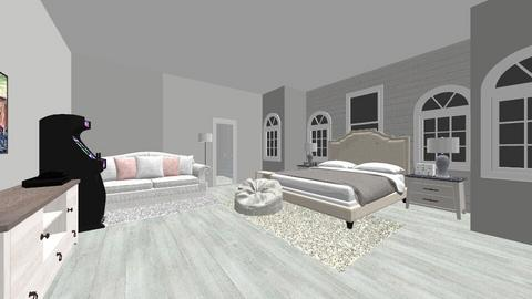 My dream room  - Modern - Bedroom  - by Lauren Lemanski
