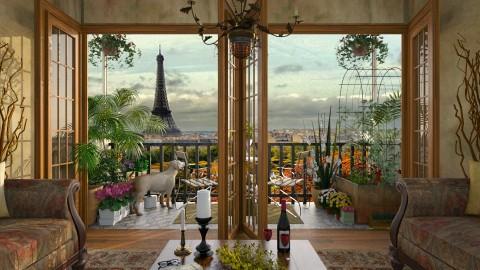Design 137 Small Balcony Paris - Garden - by Daisy320