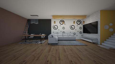 room - Living room - by landen russo