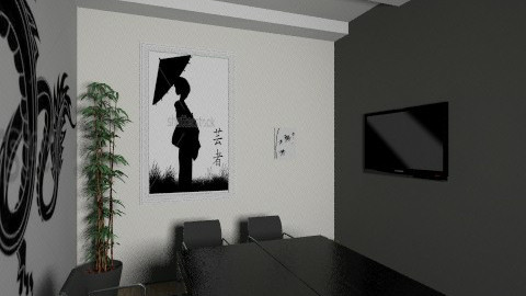 Asia room office view2 1 - Classic - Office  - by Irena_S