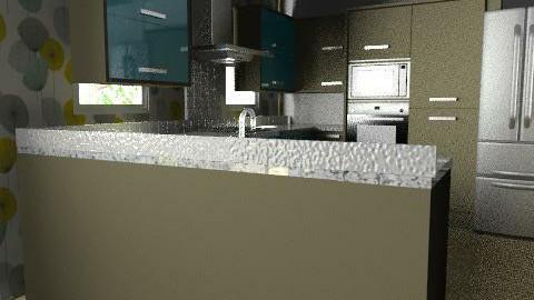 room(EB) BY VERANOS 01 pro. 01 - Classic - Kitchen  - by domuseinterior