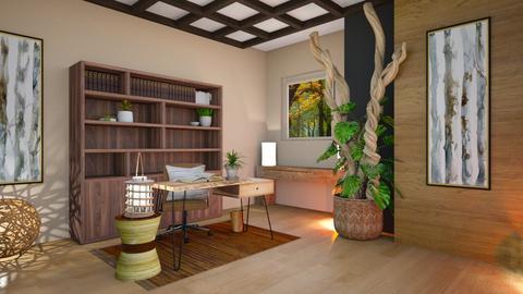 Feng Shui Office - Office  - by Feeny