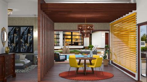 dining room - by nat mi