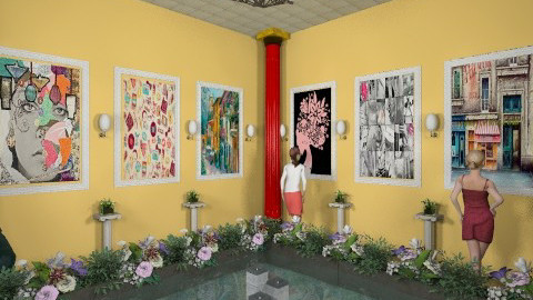 exhibition - Modern - Office  - by Veny Mully